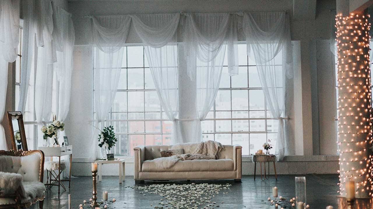 Sheer Fabric Window Treatments