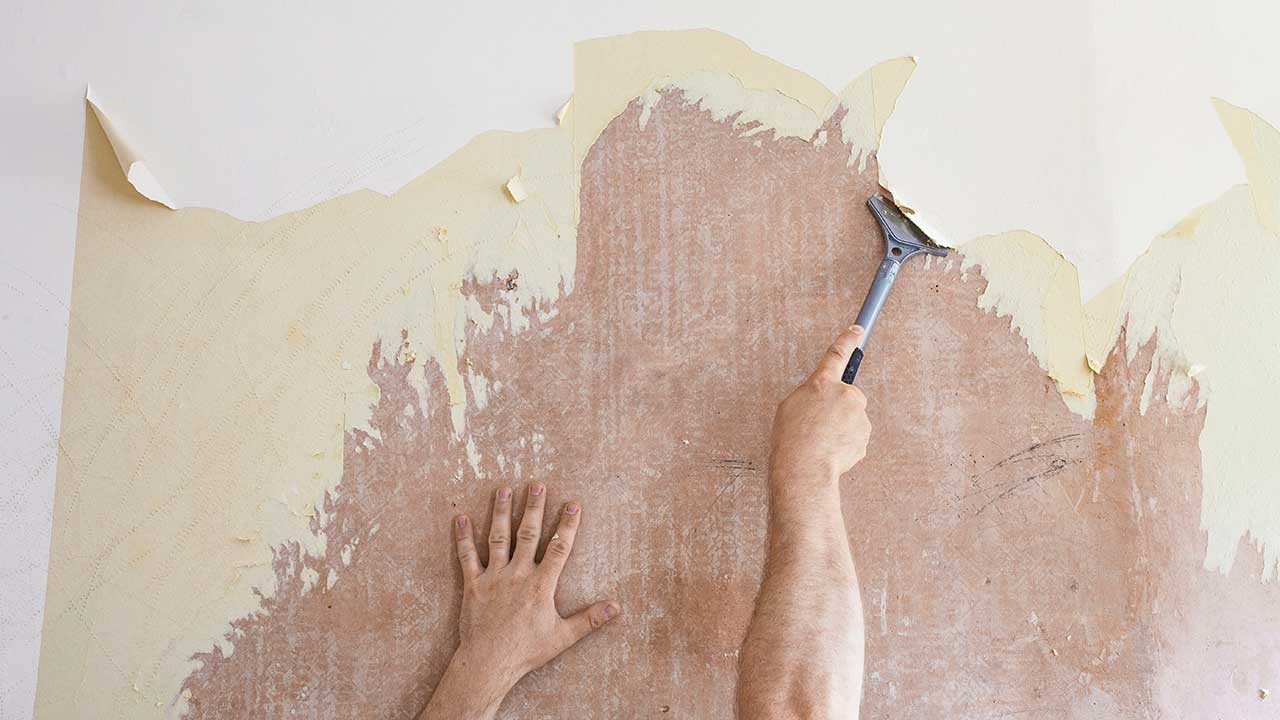 How To Remove Old Wallpaper Mayfair Paint